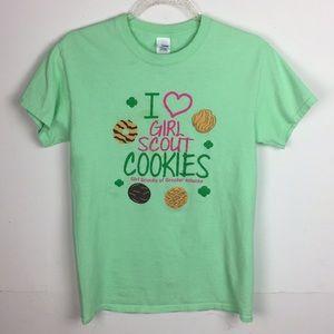 I Love Girl Scout Cookies T-Shirt Atlanta Georgia